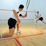 Energetic game of squash