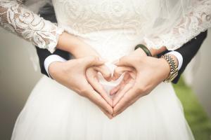 Wedding Photography - Love Heart Hands