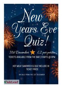 New Year's Eve Quiz