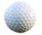 A golf ball with the words 'Oakleaf Golf Complex'