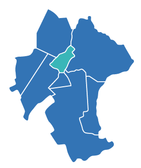 Great Aycliffe ward map