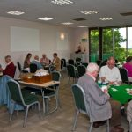 Bridge club in function room