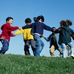 Outside social play
