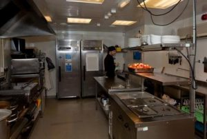 Sports Complex kitchen