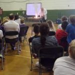Seminar in sports hall