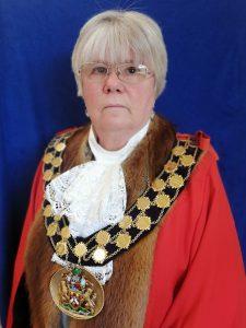 Photograph of the Mayor Councillor Mrs Sandra Haigh